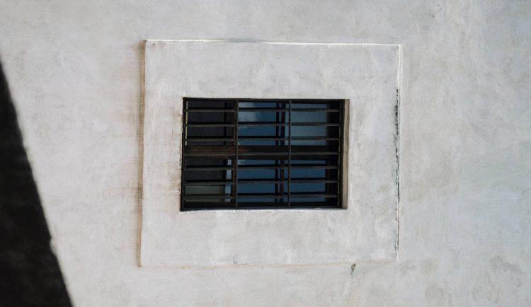 Fenêtre d'une prison